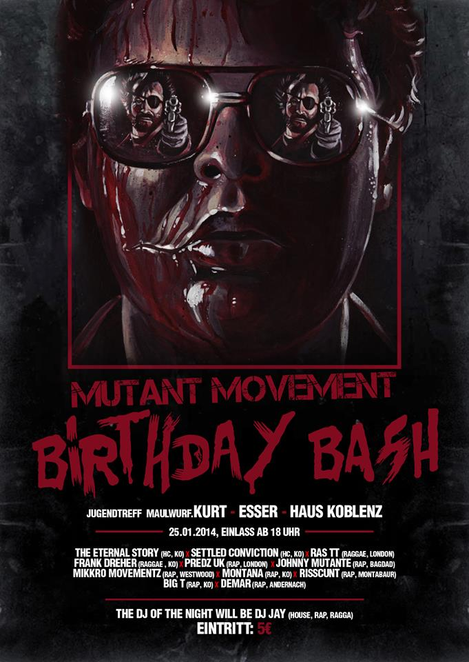Mutant Movement Birthday Party 2013